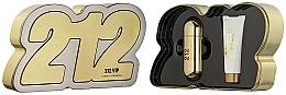 Parfums et Produits cosmétiques Carolina Herrera 212 VIP - Coffret (eau de parfum/80ml + lotion corps/100ml)
