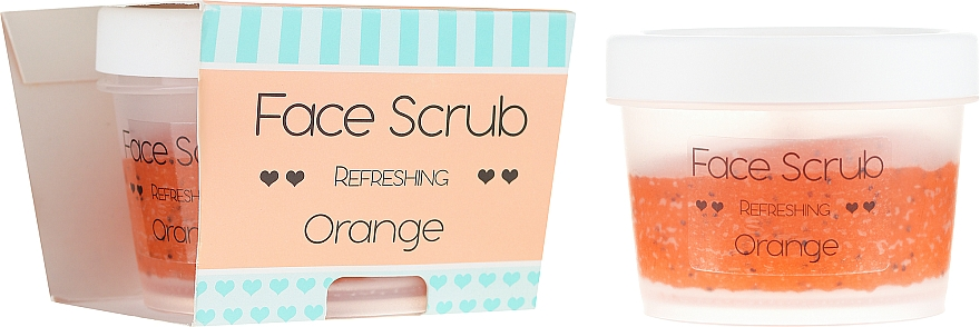 """Gommage visage rafraîchissant """"Orange"""" - Nacomi Refreshing Face Orange"""