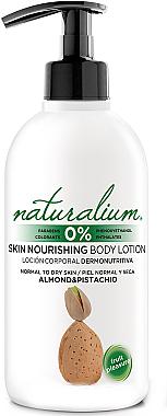 Lotion corporelle nourrissante Amande et Pistache pour peaux normales et sèches - Naturalium Almond & Pistachio Skin Nourishing Body Lotion — Photo N1