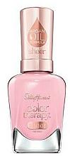 Parfums et Produits cosmétiques Vernis à ongles à l'huile d'argan - Sally Hansen Color Therapy Sheer Nail Color