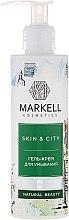 Parfums et Produits cosmétiques Gel crémeux nettoyant à l'extrait de trémelle fucus pour visage - Markell Cosmetics Skin&City