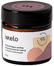Parfums et Produits cosmétiques Gommage enzymatique aux acides de fruits pour visage - Melo
