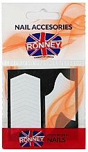 Parfums et Produits cosmétiques Papiers contours pour french manucure - Ronney Professional