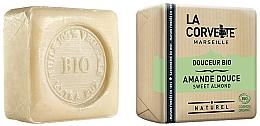 Parfums et Produits cosmétiques Savon bio, Amande douce - La Corvette Sweet Almond Soap