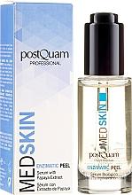 Parfums et Produits cosmétiques Sérum-peeling enzymatique biologique à l'extrait de papaye - PostQuam Med Skin Enzimatic Peel Serum With Papaya Extract