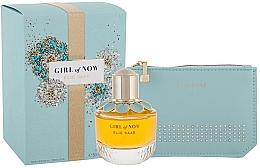 Parfums et Produits cosmétiques Elie Saab Girl of Now - Coffret (eau de parfum/50ml + trousse de toilette)