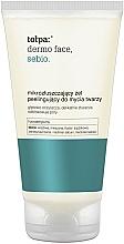 Parfums et Produits cosmétiques Gel peeling micro-exfoliant au zinc et acide salicylique pour visage - Tolpa Dermo Sebio Face Gel