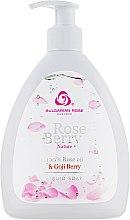Parfums et Produits cosmétiques Savon liquide à l'huile de rose et baie de goji - Bulgarian Rose Rose Berry Nature Liquid Soap