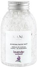 Parfums et Produits cosmétiques Sel de bain minéral Lavande et Bois de santal - Kanu Nature Lavender Mineral Bath Salt