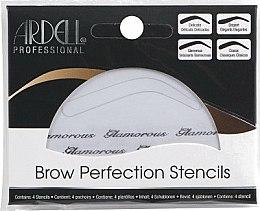 Parfums et Produits cosmétiques Pochoirs à sourcils, 4 styles - Ardell Brow Perfection Stencils