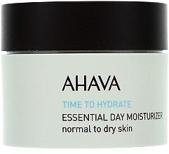 Parfums et Produits cosmétiques Soin de jour au jus d'aloe vera - Ahava Time To Hydrate Essential Day Moisturizer Normal to Dry Skin