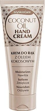 Crème à l'huile de coco pour mains - GlySkinCare Coconut Oil Hand Cream