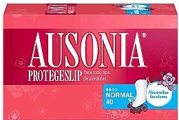 Parfums et Produits cosmétiques Protège-slips, 40 pcs - Ausonia Protegeslip Normal