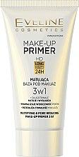 Parfums et Produits cosmétiques Base de teint - Eveline Cosmetics Make-up Primer 3v1