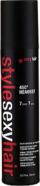 Spray thermo-protecteur - SexyHair StyleSexyHair 450° Headset Heat Defense Setting Spray — Photo N1