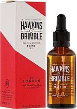 Parfums et Produits cosmétiques Huile à barbe - Hawkins & Brimble Elemi & Ginseng Beard Oil