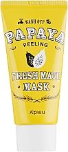 Parfums et Produits cosmétiques Masque exfoliant à l'extrait de papaye pour visage - A'pieu Fresh Mate Mask