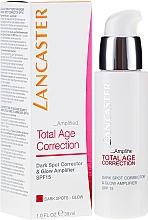 Parfums et Produits cosmétiques Correcteur visage - Lancaster Total Age Correction Amplified Dark Spot Corrector