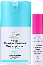 Parfums et Produits cosmétiques Masque hydratant à la vitamine F pour visage - Drunk Elephant F-Balm Electrolyte Waterfacial