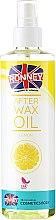 Parfums et Produits cosmétiques Huile post-épilation au citron - Ronney Wax Oil Lemon