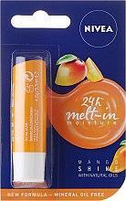 Parfums et Produits cosmétiques Baume à lèvres à la mangue - Nivea Mango Shine Lip Balm