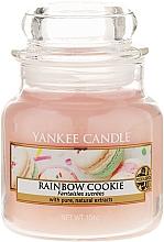 Parfums et Produits cosmétiques Bougie parfumée en jarre Fantaisies sucrées - Yankee Candle Rainbow Cookie