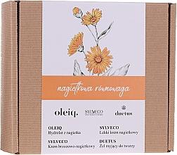 Parfums et Produits cosmétiques Coffret cadeau - Sylveco Calendula Balance (cr/2x50ml + f/gel/150ml + hydrolat/100ml)
