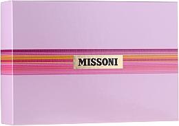 Parfums et Produits cosmétiques Missoni Missoni - Coffret (eau de toilette/100ml + lait corporel/100ml + gel douche/100ml)