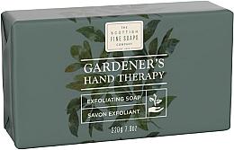 Parfums et Produits cosmétiques Savon exfoliant à l'huile d'arbre à thé - Scottish Fine Soaps Gardeners Therapy Exfoliating Soap