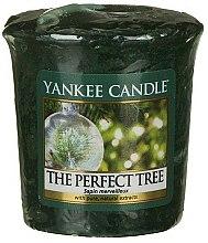 Parfums et Produits cosmétiques Bougie parfumée votive Sapin merveilleux - Yankee Candle The Perfect Tree
