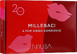 Parfums et Produits cosmétiques Coffret №1 (rouge à lèvres/5x6ml) - NoUBA Millebaci Box Set 5 Kisses Experience