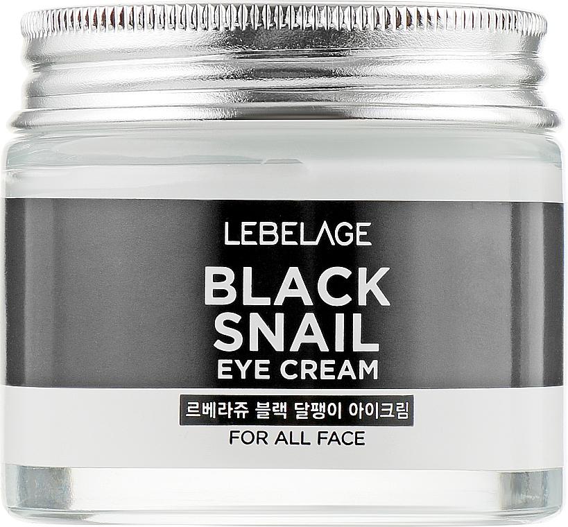 Crème au filtrat de bave d'escargot contour des yeux - Lebelage Black Snail Eye Cream — Photo N1