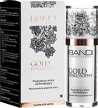 Parfums et Produits cosmétiques Elixir aux peptides pour visage - Bandi Professional Gold Philosophy Rejuvenating Peptide Elixir