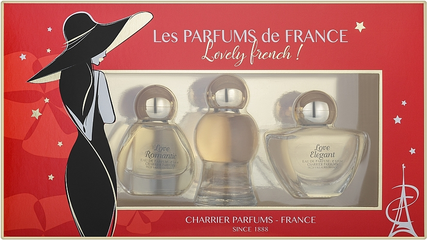 Charrier Parfums Lovely French - Set