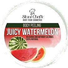 Parfums et Produits cosmétiques Gommage corporel naturel à base de sel marin et pastèque juteuse - Stani Chef's Juicy Watermelon Body Peeling