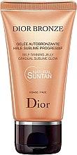 Parfums et Produits cosmétiques Gelée autobronzante pour le visage - Dior Bronze Self-Tanning Jelly Face