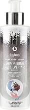 Parfums et Produits cosmétiques Lotion scintillante pour mains et corps, Argent - Kabos Shimmering Silver Hand & Body Lotion