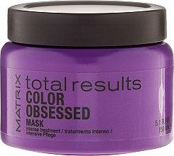 Parfums et Produits cosmétiques Traitement intense pour cheveux - Matrix Total Results Color Obsessed Mask