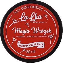Parfums et Produits cosmétiques Mousse crémeuse à l'huile de cocotier et arôme de biscuits à la cannelle pour corps - Lalka