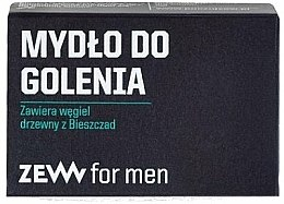 Parfums et Produits cosmétiques Savon à raser au charbon de bois - Zew For Men Shaving Soap
