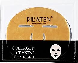 Parfums et Produits cosmétiques Masque tissu au collagène pour visage - Pilaten Collagen Crystal Gold Facial Mask