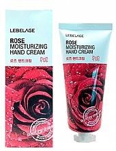Parfums et Produits cosmétiques Crème à l'extrait de rose pour mains - Lebelage Rose Moisturizing Hand Cream