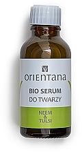 Parfums et Produits cosmétiques Sérum bio au neem et basilic sacré pour visage - Orientana Bio Serum For Face