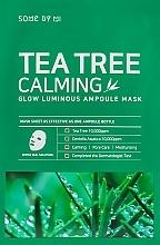 Parfums et Produits cosmétiques Masque tissu à l'extrait d'arbre à thé pour visage - Some By Mi Tea Tree Calming Glow Luminous Ampoule Mask