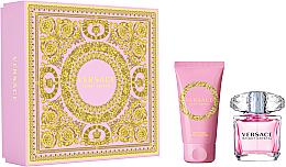 Parfums et Produits cosmétiques Versace Bright Crystal - Coffret (eau de toilette/30ml + lotion corporelle/50ml)