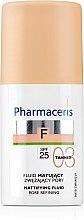 Parfums et Produits cosmétiques Fond de teint matifiant - Pharmaceris F Mattifying Fluid Pore Refining SPF 25