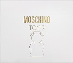 Parfums et Produits cosmétiques Moschino Toy 2 - Coffret (eau de parfum/50ml + lotion corps/50ml + gel douche/50ml)