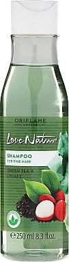 Shampooing au thé vert et litchi - Oriflame Love Nature Shampoo — Photo N1