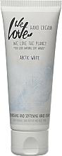 Parfums et Produits cosmétiques Crème pour mians - We Love The Planet Handcreme Arctic White