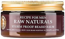 Parfums et Produits cosmétiques Baume coiffant pour barbe - Recipe For Men RAW Naturals Storm Proof Beard Balm